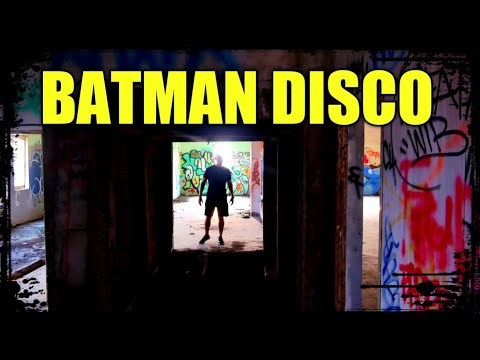 Abandoned BATMAN Nightclub in Pattaya, Thailand (w/@Jason Rupp)