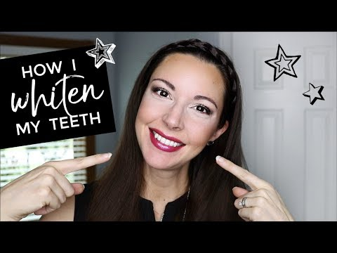 MY WEIRD TRICK for WHITE TEETH - NATURALLY!!