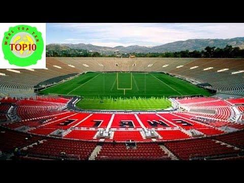 World Top Ten Biggest Football Stadiums
