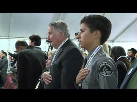 Jalsa Salana West Coast USA 2016   Awais Ahmad   National Anthem