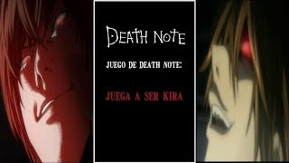 Pc Game (Death Note): Kira Playing