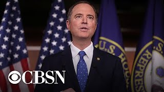 Adam Schiff holds news conference to discuss impeachment report