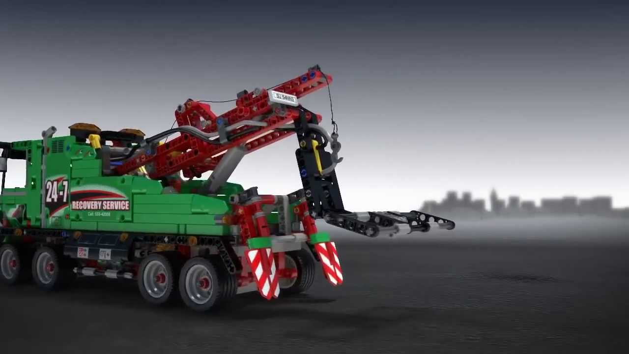 lego technic camion de service 42008 youtube. Black Bedroom Furniture Sets. Home Design Ideas