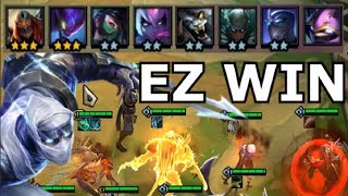 EASIEST WIN COMP EVER - Teamfight Tactics ALL ASSASSIN + NINJA OP Strategy Build Guide TFT lol