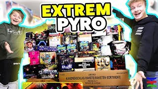 PYRO EXTREM 💥 DAS ist unser SPRENGSTOFF 2018/2019💥 Silvester Feuerwerk SPECIAL 💥