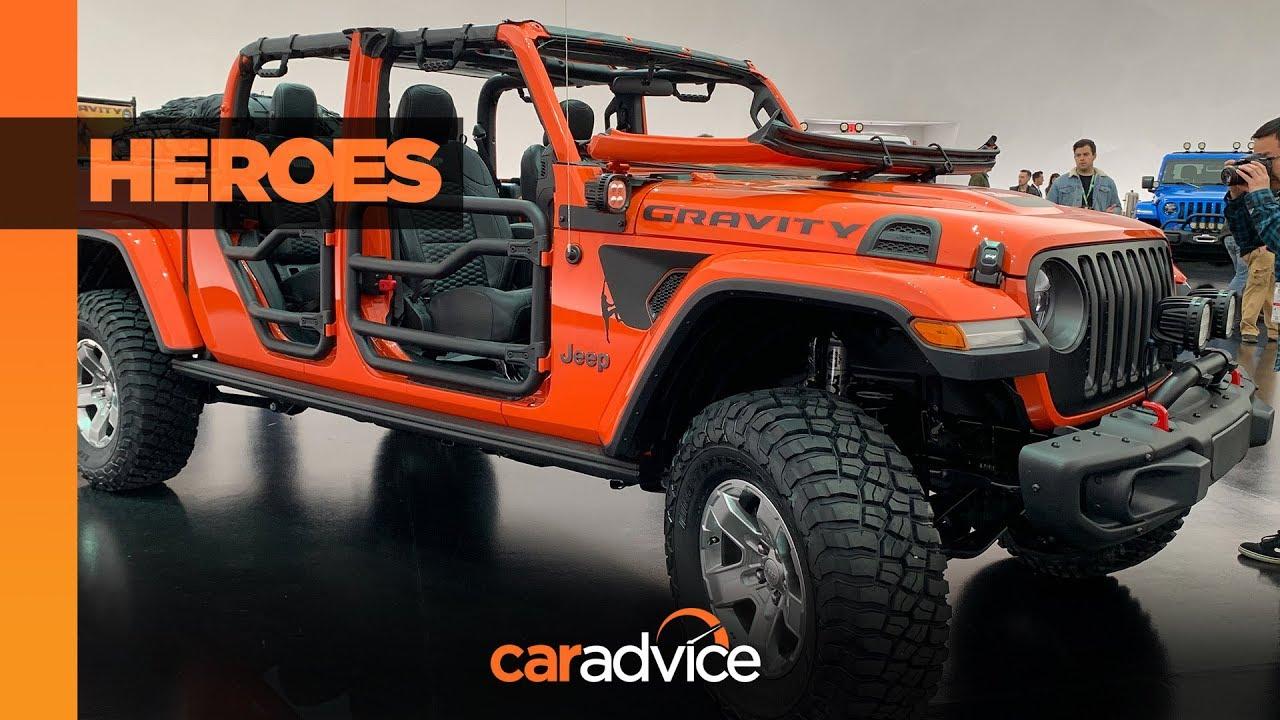 Inilah 6 jeep gladiator modifikasi keren dari ajang easter jeep