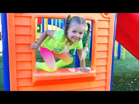 Outdoor Playground for Kids fun Play Time Nursery rhymes songs for kids