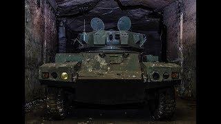 Заброшенный Военный бункер с техникой