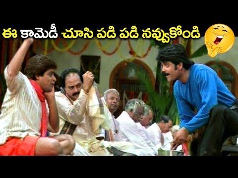 ఈ కామెడీ సీన్ చూసి పడి పడి నవ్వుకోండి.. | Ali, Nagarjuna Funny Comedy Scene | Volga Videos