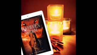 Forbidden Storm Reading by A.R. Vagnetti