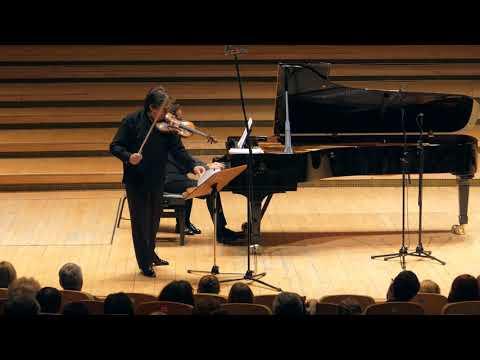 George Enescu's violin: Gabriel Croitoru and Horia Mihail at Bucharest Radio Hall – 10.08.18
