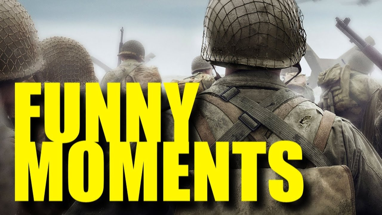 FUNNY MOMENTS – CALL OF DUTY: WWII