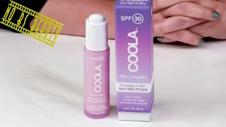 COOLA Full Spectrum 360° Sun Silk Drops SPF 30 Review and Swatch (Sunscreen Week 2018)