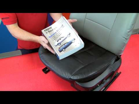 Installing custom-fit seat covers on BMW & MINI front seats