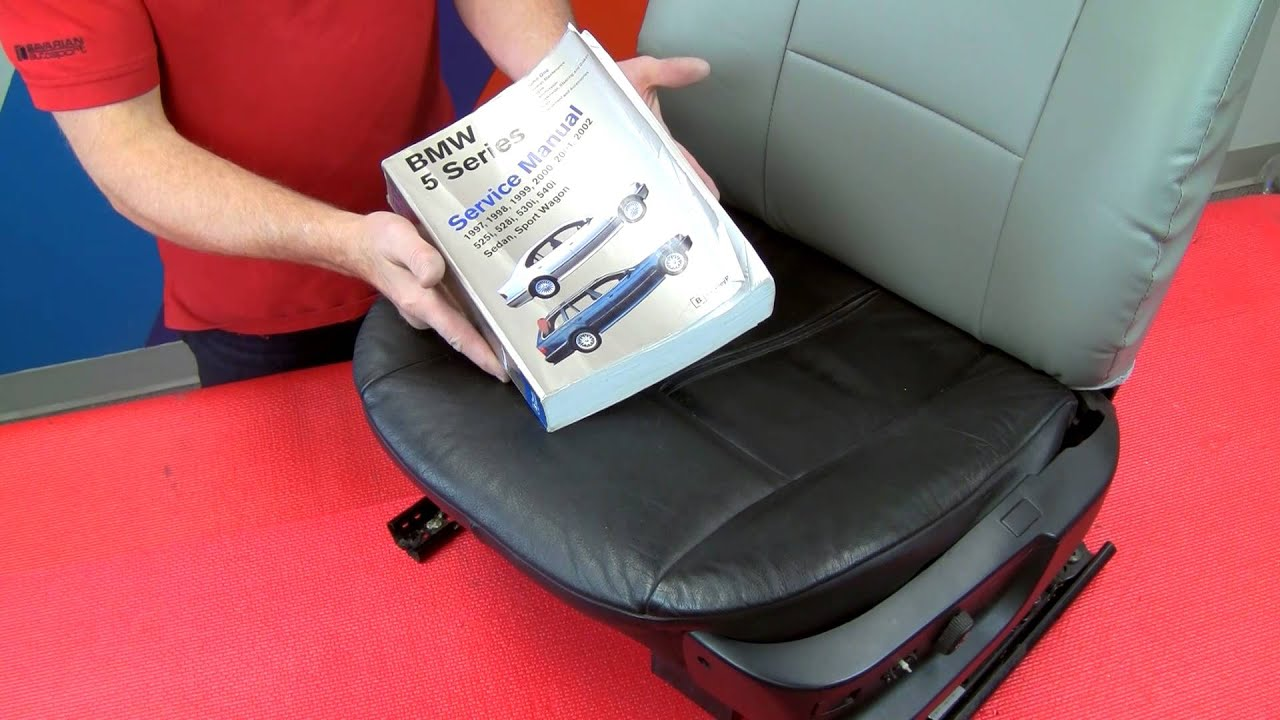Installing customfit seat covers on BMW  MINI front