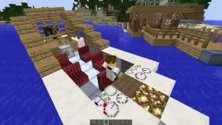 Minecraft Mod Spotlight - Archimedes Ship