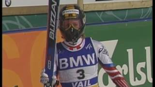 Alpine ski WM 1999  Vail, Downhill (w)