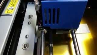 3Dプリンター初印刷2
