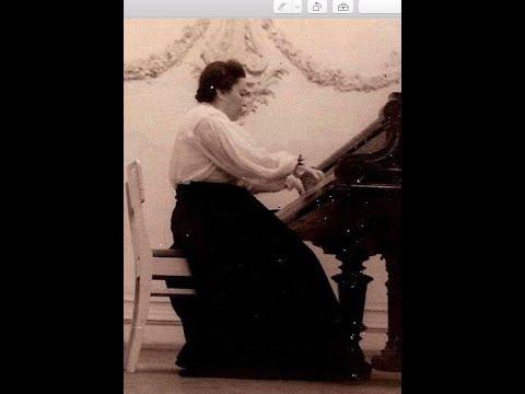 Maria Grinberg plays Weinberg Piano Sonata no. 6, op. 73