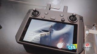 大疆展区体验:上手两款口袋灵眸配件,带屏遥控器基于安卓系统 | CES2019