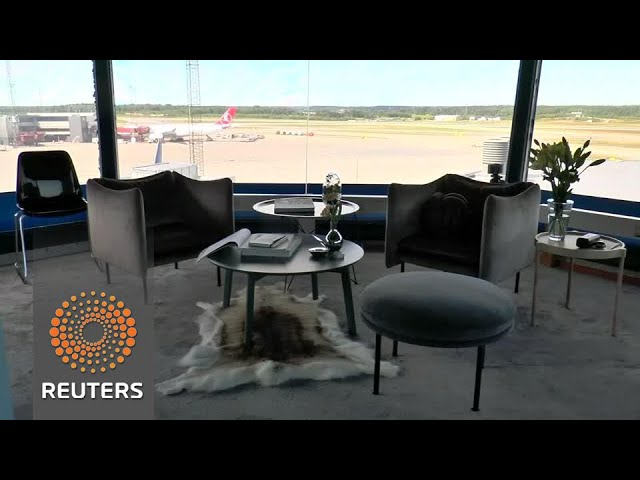 Airport turns control tower into first class apartment