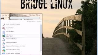 Bridge Linux 2013.06 Kde Presentation