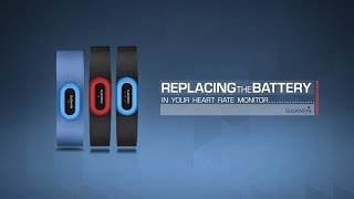 Garmin: Replacing the Battery in your Heart Rate Monitor (HRM)