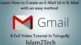 het maken van E-Mail ( G-Mail ) Id in het Telugu / e-Mail-Id ni ela Maken cheyali
