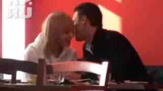 Лена Ранетка и  Абдулов в кафе