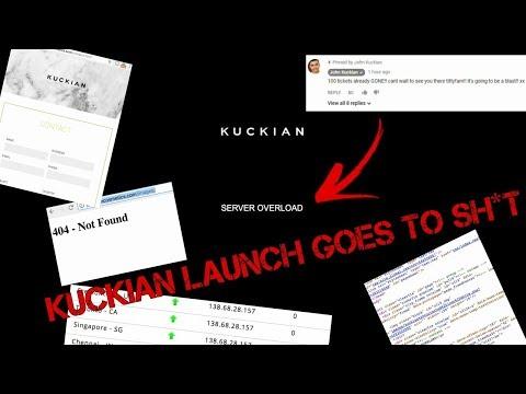 Kuckian Cosmetics Website Crash – We doing This Now?