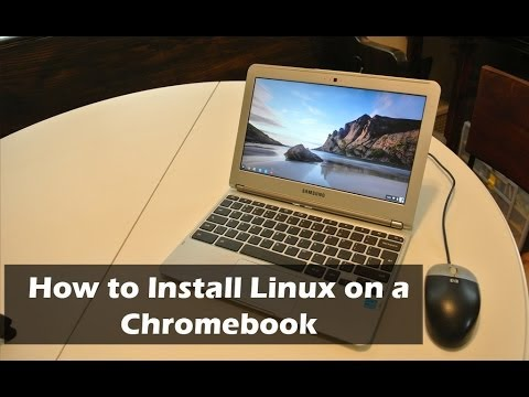 How To Install Ubuntu Linux On A Chromebook