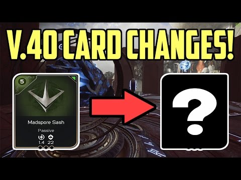 [Paragon] All V.40 Card Changes In One Simple Video!