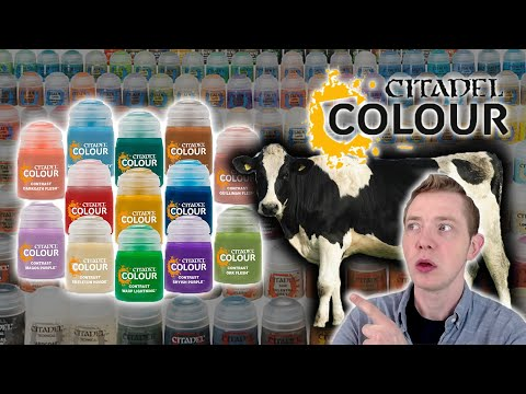 This Is How To Make Citadel Contrast Paints Yourself, For Less! Unofficial DIY