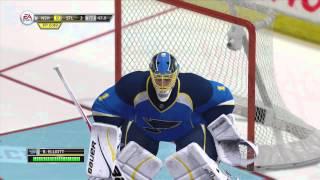 NHL 13: NHL Live Moments - Elliott Blanks The Preds