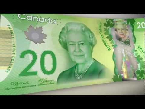 Les Nouveaux Billets De Banque Canadiens En Polymère : Conçus Pour Durer