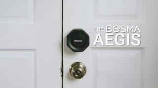 Introducing the Bosma Aegis Smart Door Lock