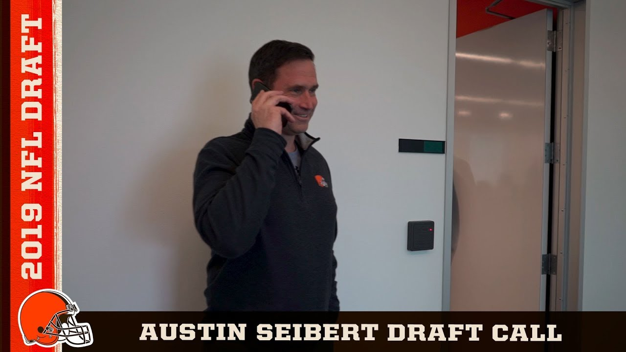 Austin Seibert hears from John Dorsey and Mike Priefer   Cleveland Browns