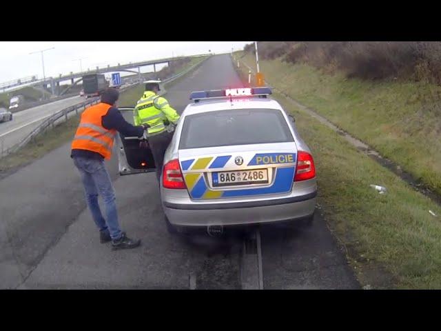 TUNNEL STORIES | POLICIE ČR - buzerační kontrola