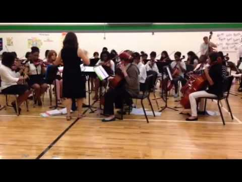 Lakewood Montessori Middle School Strings Concert 2014