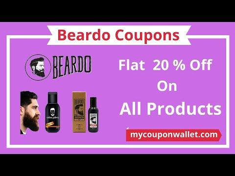Beardo Coupon Codes | Beardo Offers 2020 | Beardo oil growth | Beardo Latest Coupons