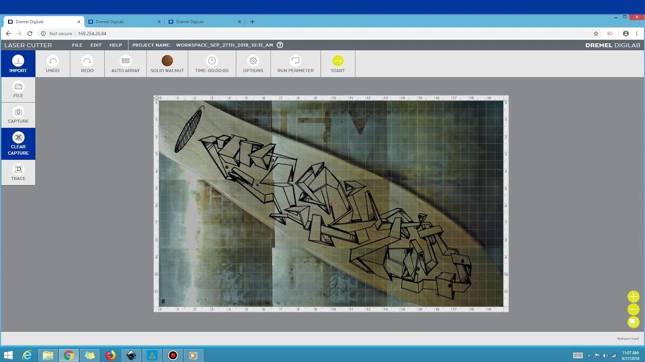 DigiLab Laser Cutter Software Demo