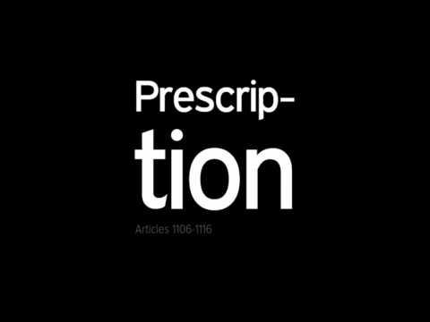 [Legal] Prescription