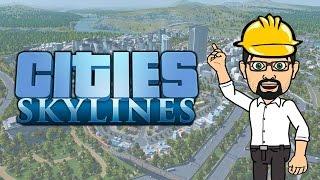 Cities Skylines - Live du 10/03/2015 - Une petite ville, des fermes et de l