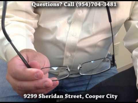 Expert Eye Glass Repair at JMR Jewelers (Cooper City FL) (Davie FL)