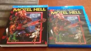 UNBOXING! Motel Hell Blu Ray/Dvd Combo Pack - Scream Factory
