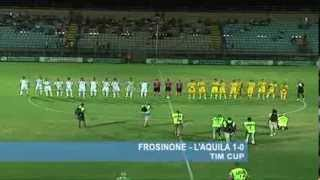 Tim Cup: Frosinone - L'Aquila 1-0