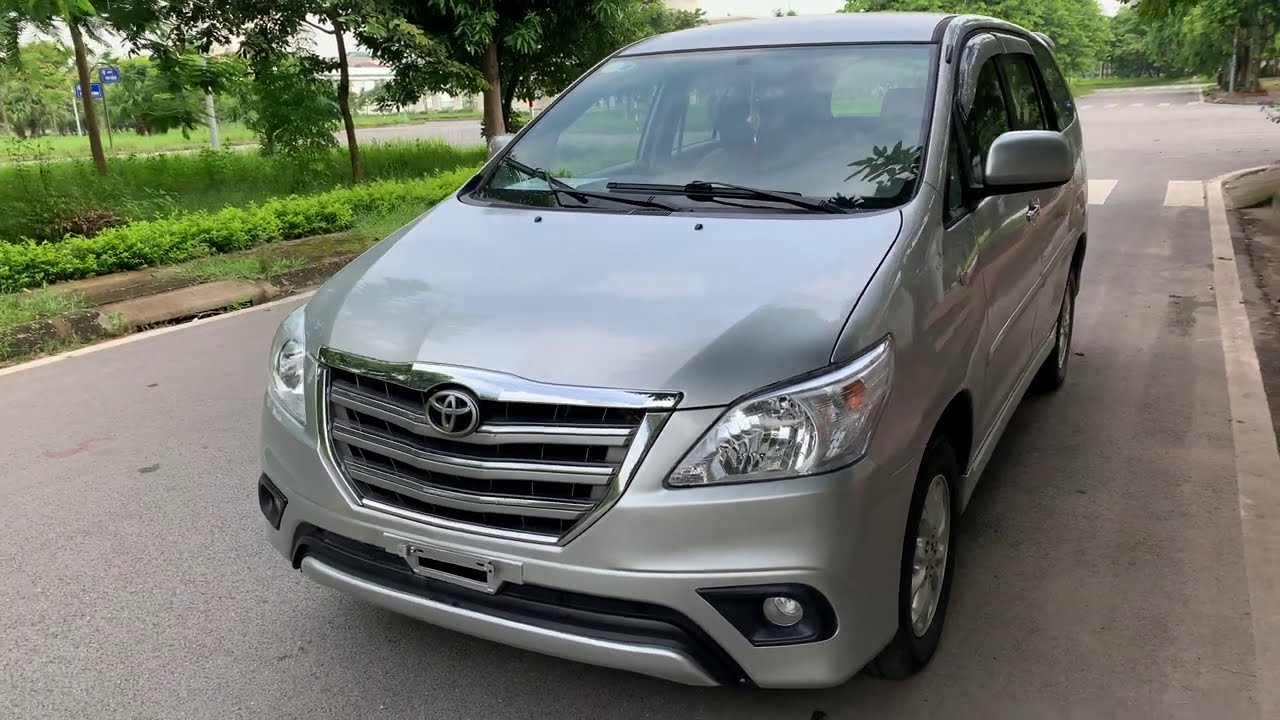 7 chỗ giá rẻ Toyota Inova 2014 giá chỉ 410tr. ship xe tận nhà mùa dịch này. alo 0789299111