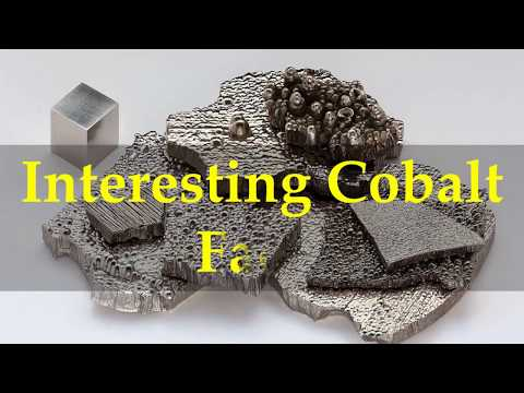 Interesting Cobalt Facts