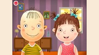 Обучающее видео для детей 2-3 лет 'Первые слова'. Учим первые слова.