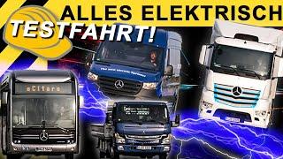 Alles elektrisch! Testfahrt Elektro Flotte von Daimler | IAA 2018
